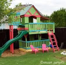 outdoor playhouses mommo design play pinterest playhouses