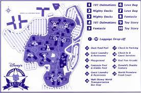 Disney Resort Map Disney Echo