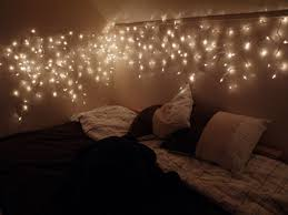twinkle lights headboard absolutely love ideas also for bedroom