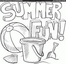 summer coloring pages for kids to print out coloring home