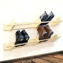hanging shoe caddy wall shoe organizer photo 1 of 6 hanging shoe racks for wall