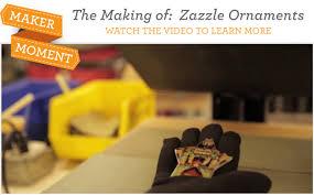 maker moment zazzle ornaments