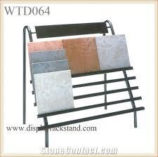 Waterfall Glass Tile Flooring Metal Steel Frame Racks Stone Tiles Waterfall Stands