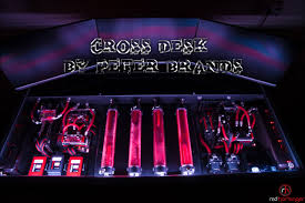 Custom Gaming Desk by Ultimate Custom Water Cooled Gaming Desk Pc Mod Crazy Gaming Pc