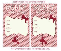 free printable christmas party invitations u2013 gangcraft net