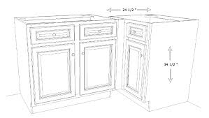 Kitchen Cabinets Measurements by Kitchen Base Cabinet Sizes Tehranway Decoration