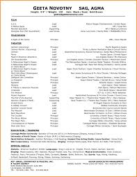 Actor Sample Resume 100 Pianist Resume Sample Cheap Reflective Essay Writing Sites