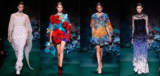fendi couture fall 2017 is in full bloom