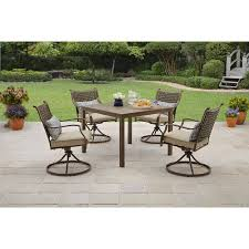 5 Pc Patio Dining Set Better Homes Gardens Bhg Lynnhaven Park 5pc Outdoor Dining Se
