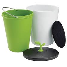 chef n ecocrock counter compost bin new free shipping