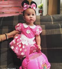 Pink Minnie Mouse Halloween Costume Chrissy Teigen Dresses Baby Luna Funny Costumes