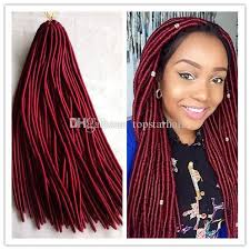crochet braiding hair for sale hot sale african goddness faux locs crochet braids hair extensions