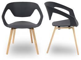 chaise salle manger design assez chaises design salle manger sidney lot de 2 a en metal beraue