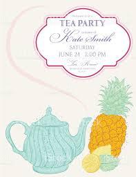 free tea party invitation templates free printable invitation design