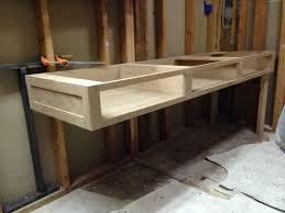 designer bathroom sink furniture floating timber bed base modern bathroom sinks with