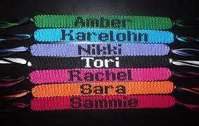 name bracelet make images Names friendship bracelets jpg