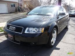 2005 Audi A4 2005 Audi A4 1 8t Quattro Sedan In Brilliant Black 121738 Auto