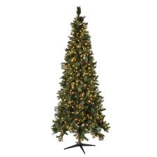 martha stewart living 9 ft pre lit led pine set