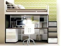 Bunk Bed With Workstation Cool Bunk Beds With Desk Gorgeous Inspiration Desk Bed