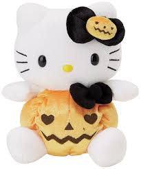 peluche hello kitty halloween pumpkin