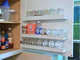 kitchen cabinet door storage racks inside cabinet door storage ideas hometalk