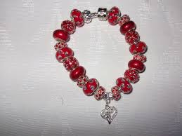 european charm bracelet beads images Red and heart european charm bracelet jpeg