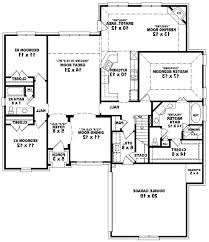 Atrium Ranch Floor Plans by Exellent Empty Nest House Plans Bed Acadian Home With Bonus Over