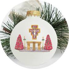 anniversary christmas ornament christmas ornament catholic community of st francis xavier