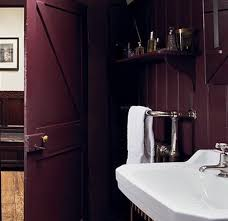 farrow and bathroom ideas farrow brinjal paint colour interiors