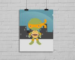Ninja Turtle Bedroom Ninja Turtle Room Decor Bedroom Nursery And Children Ninja