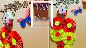 wall decor diy a4 sheet chinese paper fan medallions