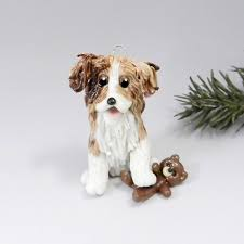 australian shepherd red merle christmas ornament by themagicsleigh