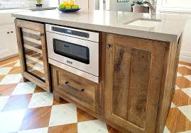 reclaimed kitchen island rustic wood kitchen island gorgeous ways to add reclaimed wood to