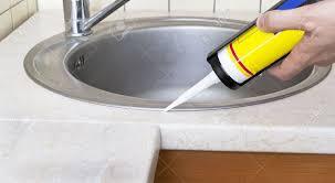 Sealant For Kitchen Sink Kitchen Sink Sealant Kitchen Sink