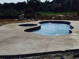 inground fiberglass swimming pools swimming pool designs