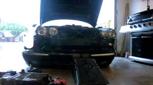 jaguar xj8 headlight full beam cuts out fog lights who knew