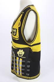 university missouri mizzou tigers fan sweater vest 1980 football