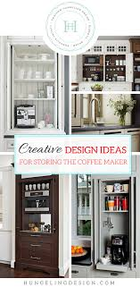 coffee kitchen cabinet ideas coffee station ideas for the luxury kitchen