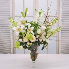 Artificial Flower Arrangement In Vase Centerpieces Winward Home