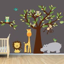 Jungle Nursery Wall Decor Jungle Theme Wall Simple Jungle Theme Wall Decor Wall And