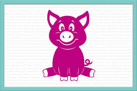 martini svg pig svg baby pig svg pig clipart pet design bundles