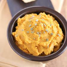 5 minute savory pumpkin hummus with fresh sage two healthy kitchens