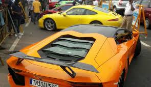 lamborghini car owners in chennai chennai impound cars like lamborghini cause