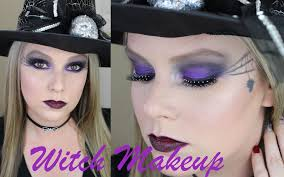 Purple Halloween Eye Makeup by Witch Makeup Tutorial Halloween Makeup Youtube