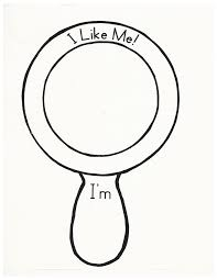 i like me mirror for the book what i like about me first days