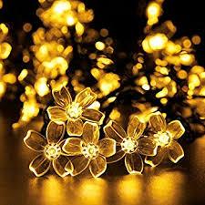 solar string lights 115ft 300 led lights