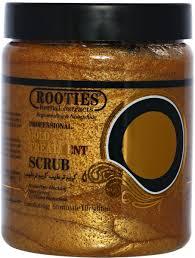 Scrub Gold rooties gold scrub 1 kg skin care kanbkam