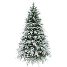 7ft designer artificial tree snow covered