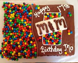 Home Decorated Cakes M U0026m Birthday Cake Decorated Cakes U0026 Cupcakes Pinterest