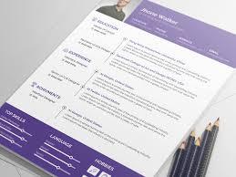 free minimal resume psd template free jhone walker free minimal resume psd template